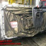housse protection robot cover tissu base aramide tiffon R ASP eulmont