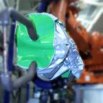 housse protection robot cover ferrage ignifuge plastron pince cmc ASP eulmont